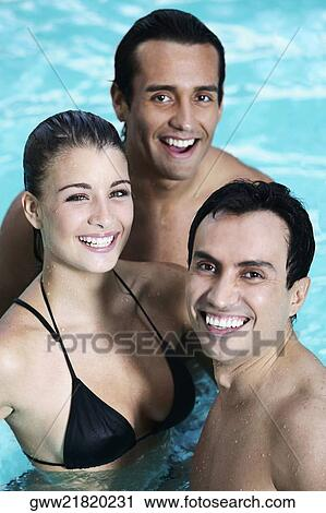 Teen girls with mature males