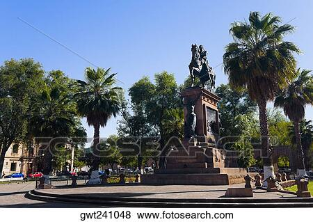 Low Angle View Of A Monument Monument Of Jose Maria Morelos And