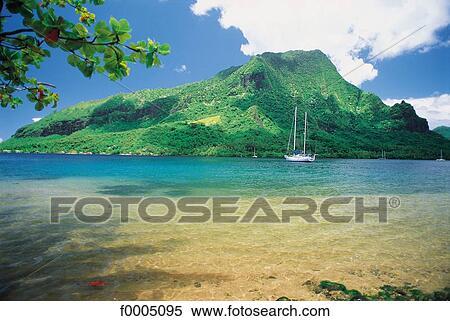 Coleccin de imgen oceana polinesia paisaje paisajes escena