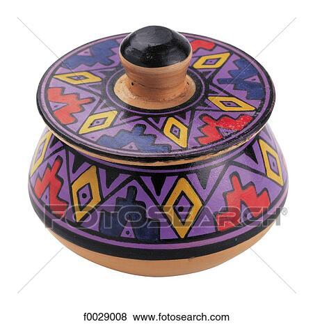 Pictures Of World Symbols Inca Pot South America F0029008