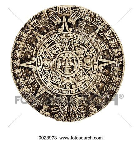 Stock Photo Of World Symbols Mayan Calendar South America