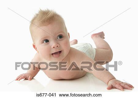 Banques de Photographies - bébé, sortir, elle, langue is677-041 ... f0221e0b9c7