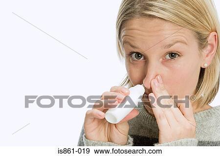 En kvinna sprutande
