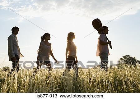 stock photo of friends walking is877 013 search stock images