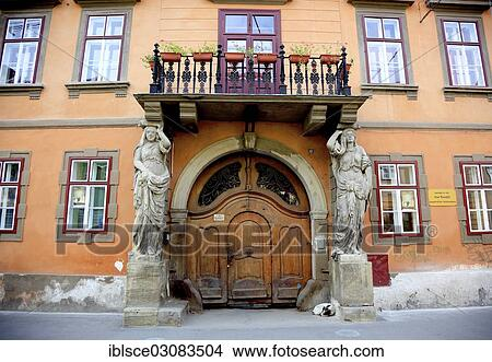 Stock Photo Of Historic Saxony House As A Boarding And