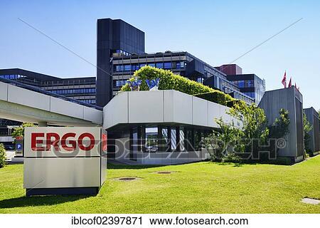 Stock Fotografie Office Gebaude Von Dass Ergo Versicherung