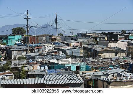 banque d 39 images view de khayelitsha township cap cap ouest afrique sud africa. Black Bedroom Furniture Sets. Home Design Ideas