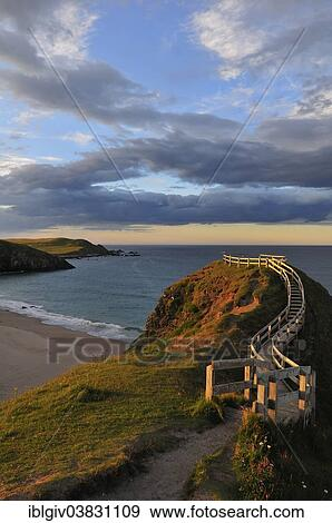 Viewpoint Overlooking The Beach Of Sango Bay Durness Caithness Sutherland And Easter Ross Scotland United Kingdom Europe