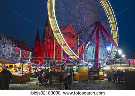 Mulhouse Frankreich bilder weihnachtsmarkt mulhouse elsaß frankreich europa