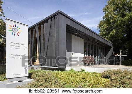 Fotograf Dortmund Brackel banco de fotografías arent rupe casa comunidad centro iglesia