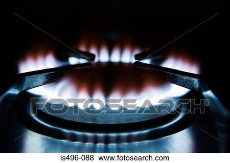 Kokplatta gas
