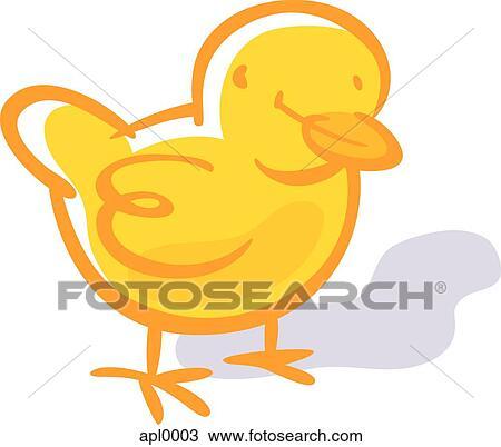 Disegno Disegno Di Uno Pulcino Apl0003 Cerca Clipart
