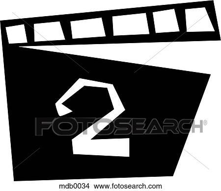 drawings of a clapboard mdb0034 search clip art illustrations
