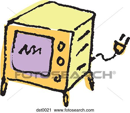 clipart of a microwave dst0021 search clip art illustration rh fotosearch com dirty microwave clipart clean microwave clipart