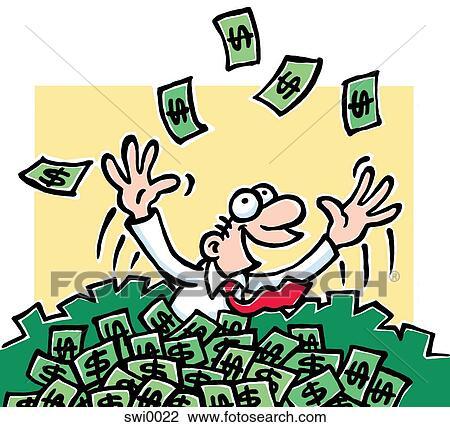 Bilderesultat for penger karikatur