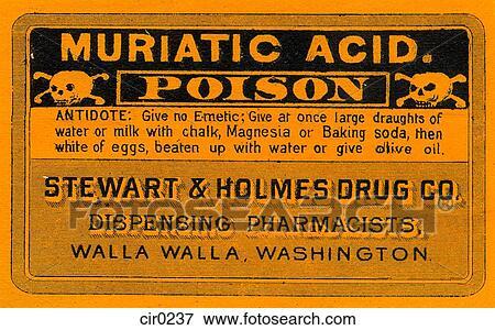 Stock Illustration Of Vintage Medicine Label Cir0237
