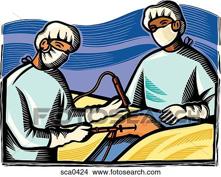 drawings of doctors performing knee surgery sca0424 search clip rh fotosearch com surgery clipart images surgery clip art free