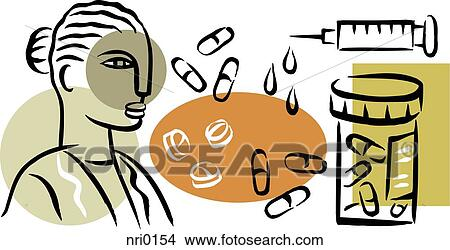 drawings of an illustration of a pharmacist and prescription drugs rh fotosearch com pharmacy clip art images pharmacy clipart