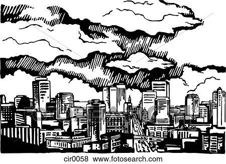 Illustration Scenic Vintage Cartoons Graphics Stock Illustration Cir0058 Fotosearch