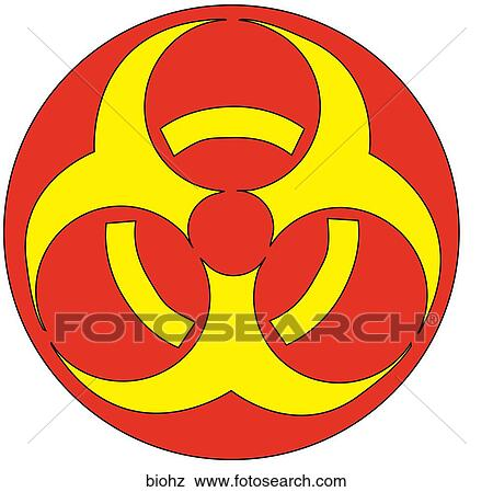 Stock Illustration Of Biohazard Symbol Biohz Search Eps Clip Art