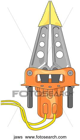 Jaws Of Life Stock Illustration Jaws Fotosearch