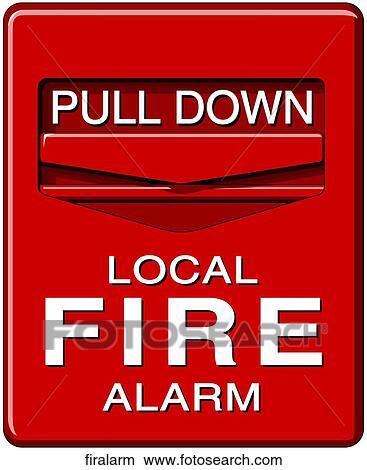 drawings of fire alarm firalarm search clip art illustrations rh fotosearch com fire alarm pull station clipart fire alarm bell clip art