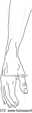 main avant bras reposer position dessin h103013. Black Bedroom Furniture Sets. Home Design Ideas
