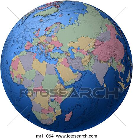 Map Of Asia Middle East.Map Asia Globes Europe Atlas Middle East Africa Picture