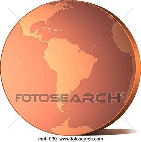 Globe, map, south america, world Stock Image on map of antarctica globe, map of pacific ocean globe, map of world globe,