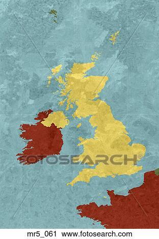 Map Of Uk Ireland.England Ireland Map Uk United Kingdom Stock Image Mr5 061