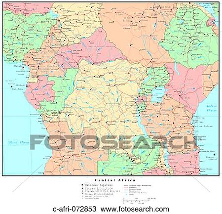 Map of Central Africa, with Country Boundaries Stock Image Map Of Afri on map of ethiopia, map of benin, map of goa, map of martin luther, map of ghana, map of span, map of art, map of adobe, map of amer, map of asia, map of last, map of afr, map of amst, map of univ, map of soc, map of fren, map of history, map of nigeria, map of europe, map of namibia,