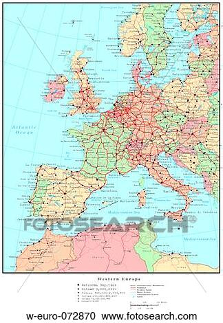 Map of Western Europe, with Country Boundaries Stock Image Euro Map on pyrenees mountains map, rotterdam map, japanese yen, french franc, new zealand dollar, greek drachma, seventeen provinces map, egyptian pound, world map, europe map, turkish lira, norwegian krone, euro sign, germany map, chinese yuan, singapore dollar, argentina map, europ map, portugal map, global currency map, mexican peso, italy map, swiss franc, instructional map, montenegro map, brazilian real, spain map, france map, european map, eurozone map, indian rupee, danish krone, swedish krona, russian ruble, danube river map, japan map, italian lira, norway rivers map,