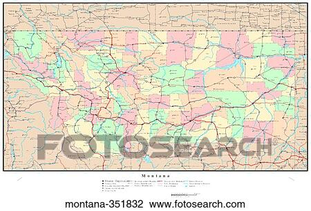 Map, political, united states, usa, states Stock Image on snowflake in montana, home in montana, dinosaurs in montana, animals in montana, usa map in miami, butterflies in montana, turkey in montana, tent in montana, usa map from montana,
