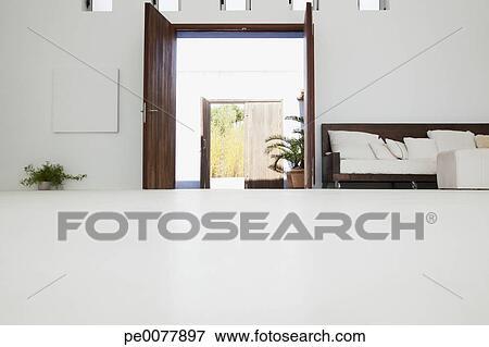 Bureau dans moderne maison image pe
