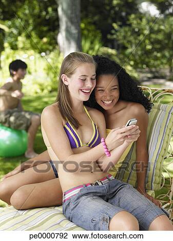 Teens outdoor two