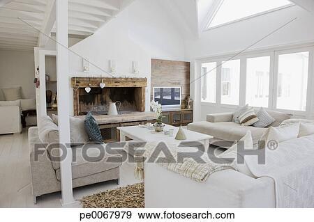 Stock Fotografie - woonkamer, in, hippe, thuis pe0067979 - Zoek ...