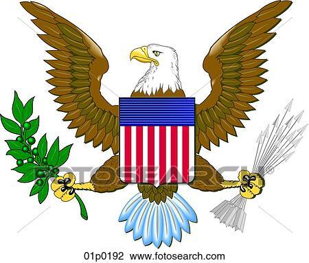 clipart of us eagle 01p0192 search clip art illustration murals rh fotosearch com american eagle clip art free american eagle clip art free download