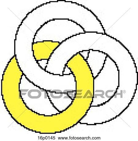 Clipart Of Oceanographic Logo 16p0145