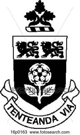 York University Logo Clipart 16p0163
