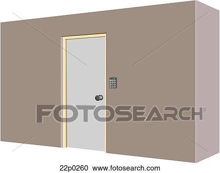 Image result for password protected metal door