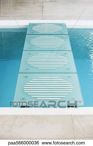 Swimming Pool Stock Photograph