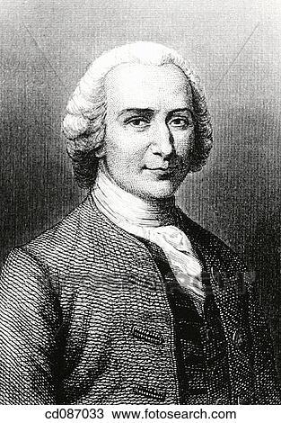 Jean Jacques Rousseau فرنسي شخص ذو نظرة فلسفية أيضا