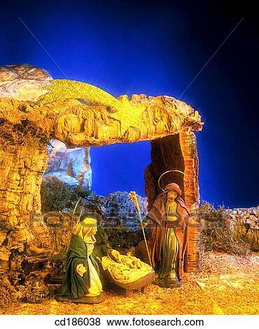 Weihnachten Im Christentum.Feiern Feier Christ Child Christliche Christentum Weihnachten Stock Foto