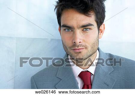 Stock Images Of Black Hair Blue Eyes Business Businessman