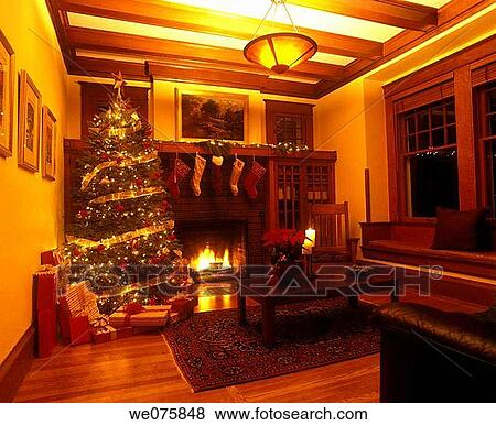Pictures Of Christmas Room Arts And Crafts Home Usa We075848