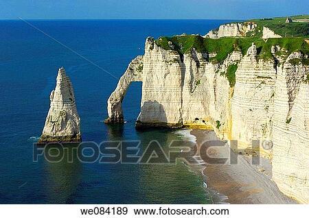 Falaise D Aval Etretat C Te D Alb Tre Haute Normandie