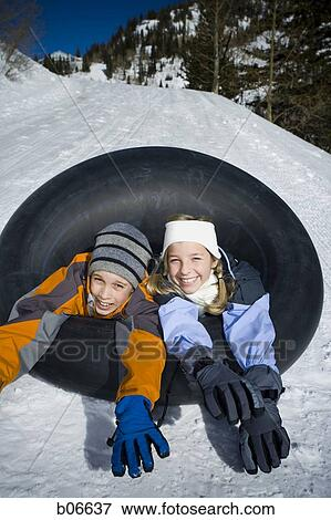 Sister and brother tube