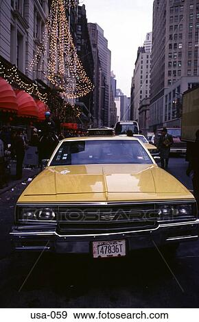 Poster New York Taxi.Stock Photograph Of New York Taxi Cab Usa 059 Search Stock