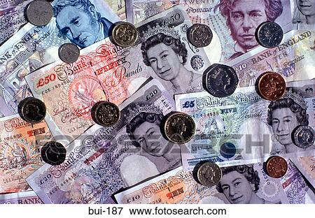 Money Currency English Pounds