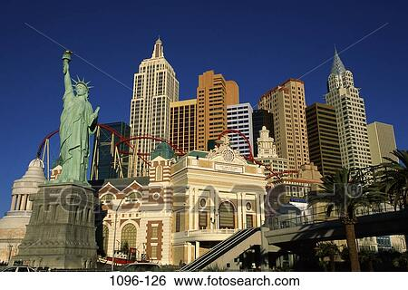 Stock Images Of New York New York Hotel And Casino Las Vegas